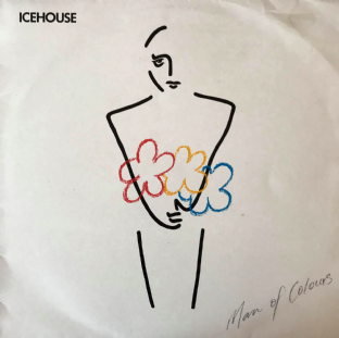 Icehouse - Man Of Colours (LP) (VG/G-VG)